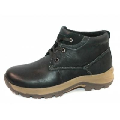Ботинки зимние кожаные мужские