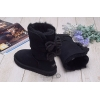 Угги UGG Short Bailey Knit Bow Black