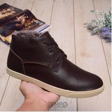 Угги UGG Kramer Leather Chocolate
