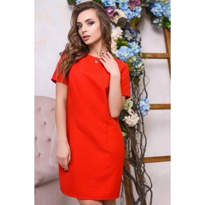 Платье KP-5933, (Алый)