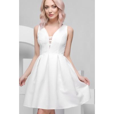 Платье KP-5936, (Молоко)