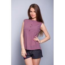 Блуза фиолетовая