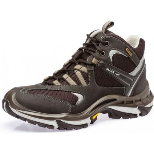 678a55c70 Ботинки осенне-зимние водонепроницаемые кожаные мужские Grisport (Red Rock)