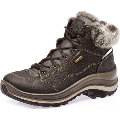 Ботинки осенне-зимние водонепроницаемые кожаные женские Grisport (Red Rock)