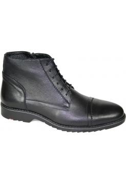Ботинки зимние классические кожаные мужские Caman