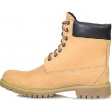 Ботинки зимние кожаные мужские Caman