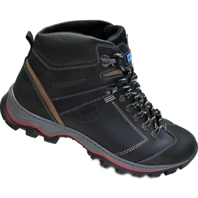 Ботинки зимние кожаные мужские Ferum
