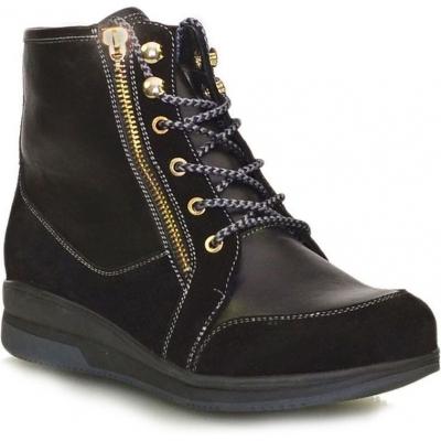 Ботинки зимние кожаные женские Caman (Camalini)