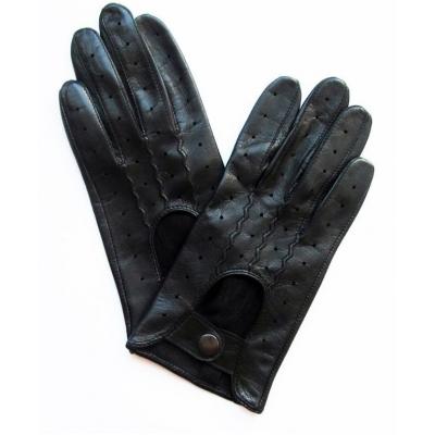 Перчатки демисезонные кожаные женские