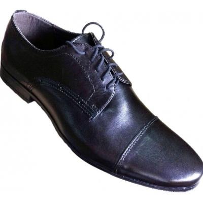 Туфли классические кожаные мужские Makas