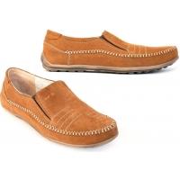 Туфли-мокасины кожаные мужские Makas