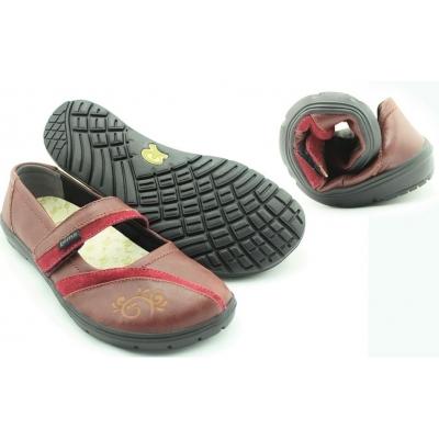 Туфли ультралёгкие и гибкие кожаные женские Lems